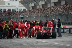 Scuderia Ferrari F1 Pit Stop, Luca Badoer (ITA), Test Driver Scuderia Ferrari