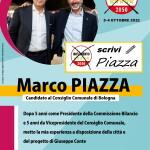 Fronte santino Marco Piazza