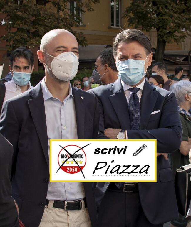 Marco davanti a Conte+scrivi piazza